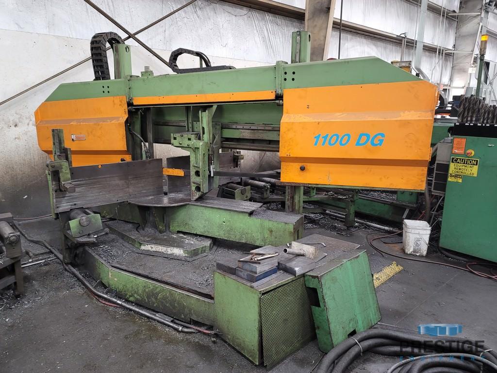 "Peddinghaus PCD-1100,44"" x 18"" cap, (3) Spindle, Meba 1100DG Miter Saw , Siemens CNC, Conveyor & Transfers, 2007 #31515"