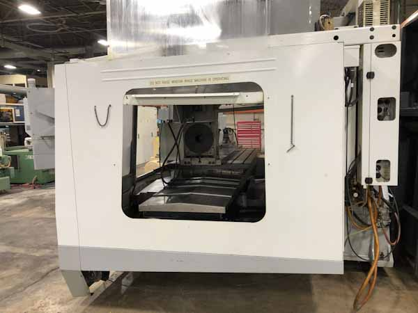 "Haas #VF8B/40, Haas 4th axis, 64""X, 40""Y, 30""Z, 24 ATC, CAT40, Haas CNC, 2005"