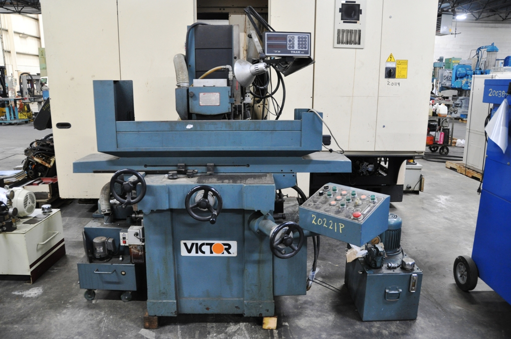 "10"" x 20"" Victor 2-Axis Surface Grinder"