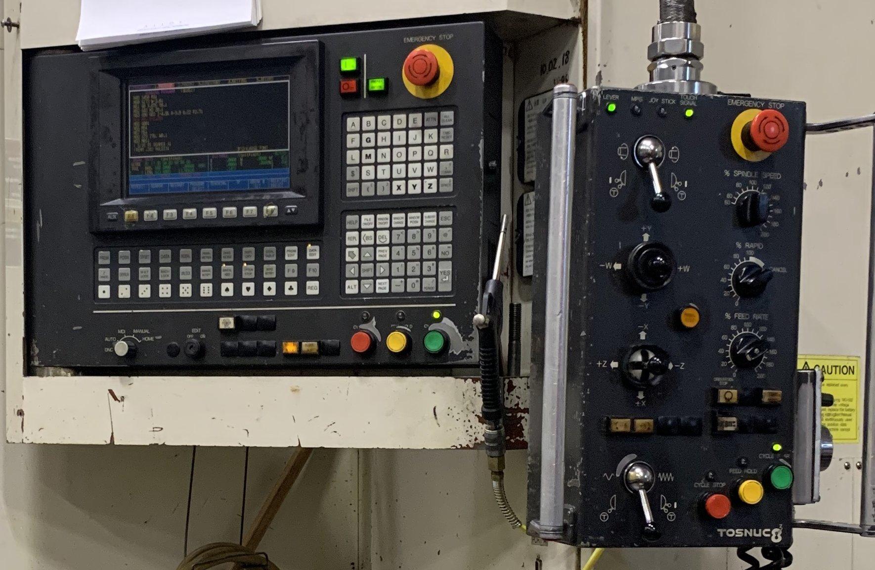 Toshiba BTD-110.R16 CNC Horizontal Boring Mill