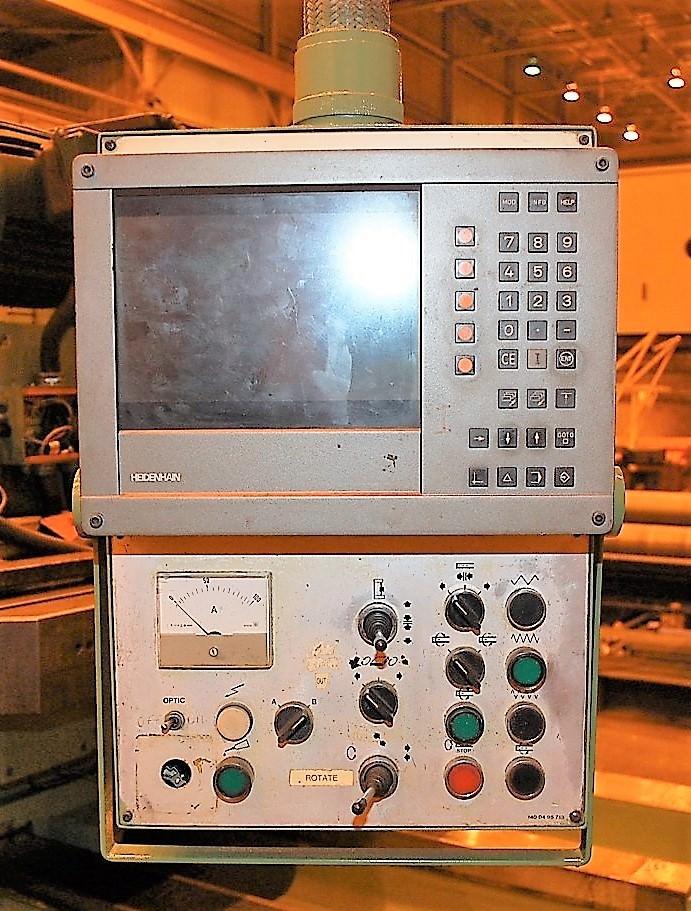 "5.12"" Ivo Lola Ribar X-86"", Y-59"", 78"" x 71"" Built In Rotary, #50 Taper, 1000 RPM, DRO, Pendant, #27468"
