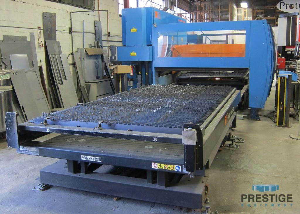 "Prima Platino 1530 4KW C02 Laser, Dual 60"" x 120"" pallets, Primach 20L CNC, 2009 #30997"