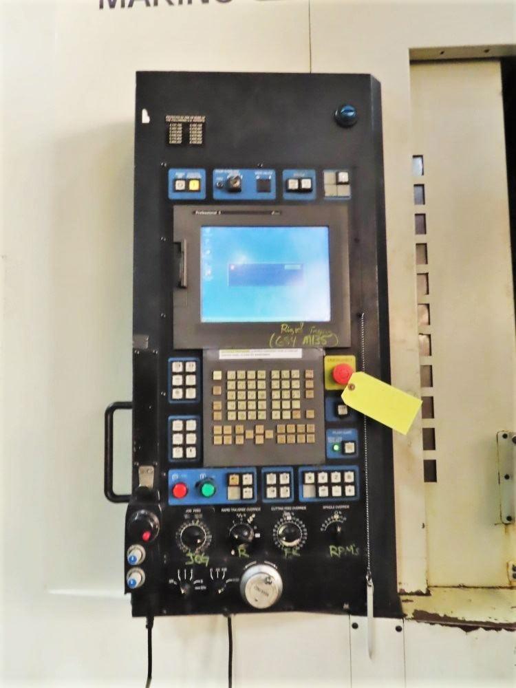 "Makino A81, X-35"",Y-31,Z-40"", 10k RPM, 60 ATC, CAT 50, (2) 25"" x 25"" Pallets, 2006, #30336"
