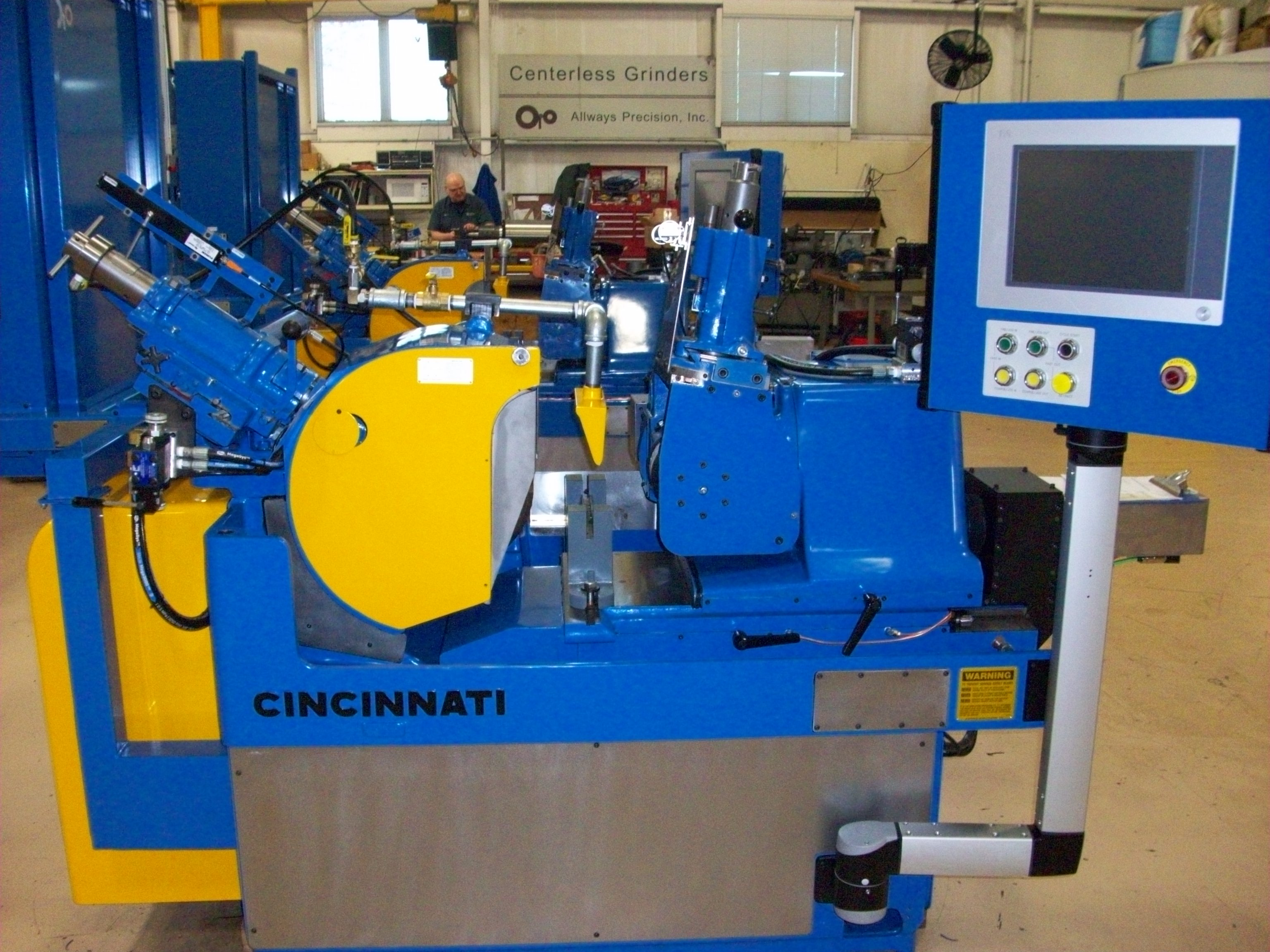 Cincinnati Centerless Grinder 2OM, Various Conditions (Remanufactured, Rebuilt, Inspected) More than 20 in stock.