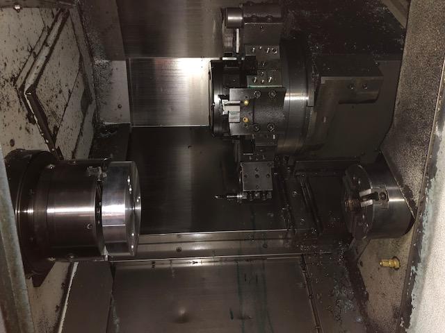 "MORI SEIKI SL-204SMC Gantry, '01, MSG-805, 2.5"" Bar, 8"" Chuck, 4500 RPM, 12 Tools, 15 HP, Live Tools, Sub Spindle, Gantry Robot"