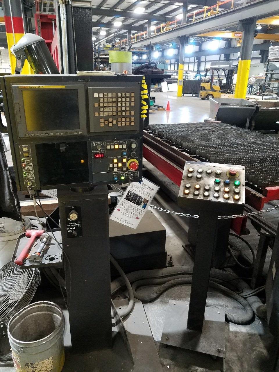 4000 Watt Amada FO-3015, 5' x 10', Pallet Changer, Fanuc 160iL, Chiller, Dust Collector, #29948