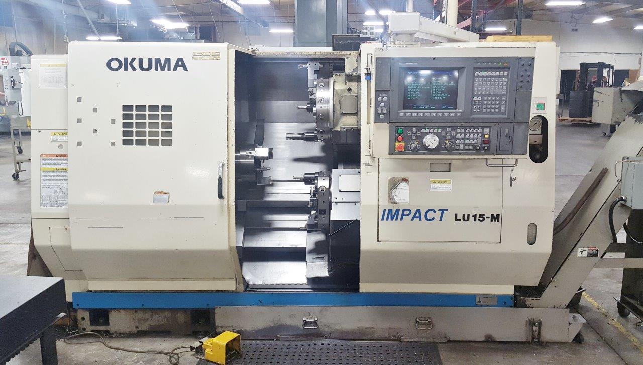 2001 OKUMA IMPACT LU15-M - LIVE MILLING