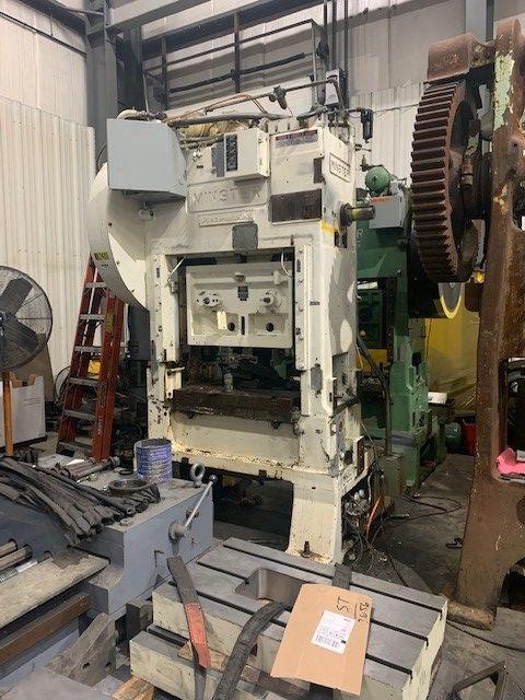 "Reconditioned Minster 60 Ton SSDC Press, Model P2-60-36 Piecemaker, SN 21758, Stroke 2"", 0-400 SPM, 14.5"" SH, STK# 1252"
