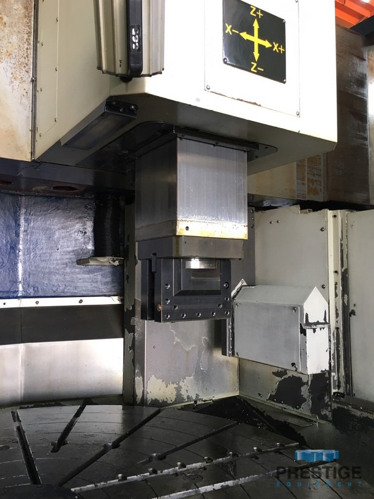 """You Ji YV-1600ATC, 63"""" Table, 78"""" Swing, Fanuc OiD, Ram with 12 Sta. ATC, Scales, Tooling, 2015, #31240"""