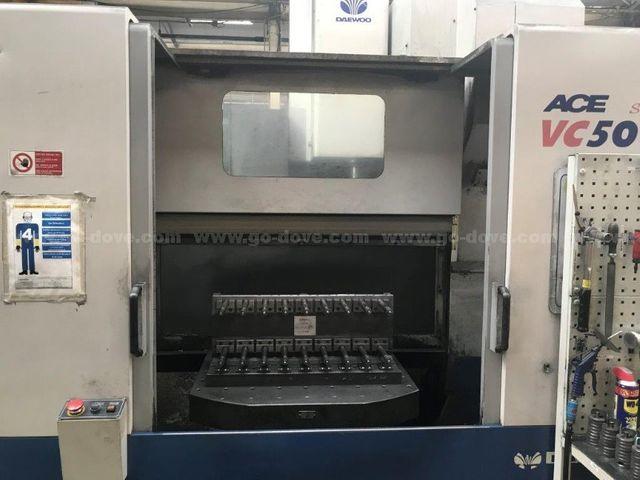 Daewoo 'ACE VMC 500' CNC Vertical Machining Centre (2000)