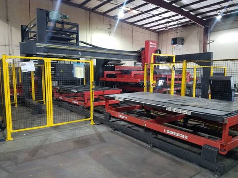 2013 Amada FOM2 3015NT, 5x10, 4000 Watt Co2 CNC Laser with FMS