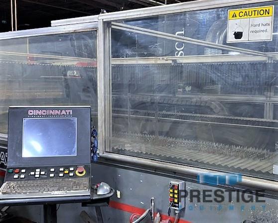 "Cincinnati CL-840, Fanuc C4000i 4 KW CO2 Resonator, 78"" x 157"" Travel,  Dual Pallets, 2008, #30994"