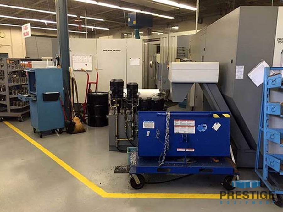 DMG 60T 5-Axis, (2) Machines, 20 Station Fastem System, 180 ATC 18,000 RPM, Loaded with Tooling, #30988