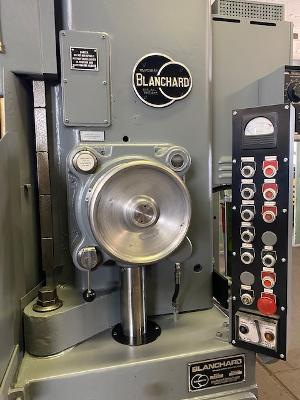 """BLANCHARD NO. 22-42 ROTARY SURFACE GRINDER, 50 HP, 24"""" UNDER WHEEL, NEW SPINDLE BEARINGS & WINDINGS, RECONDITIONED & READY TO GO!, 1980"""