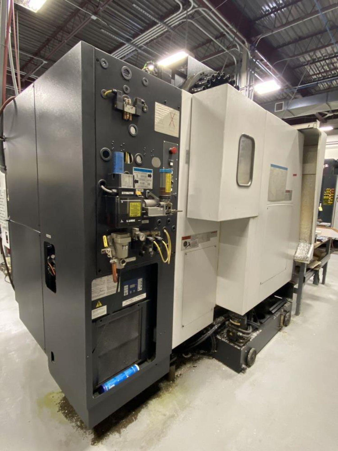 20″X, 16″Y, 20″Z, Mazak VCN-410A, 2004, Fusion 640, 30 ATC, 12,000 RPM, Cat-40