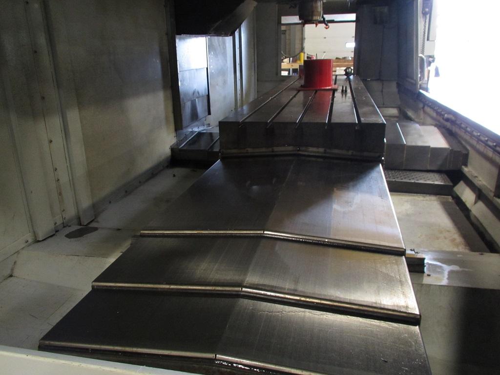 """Haas VF-11/50 VMC, 120""""x, 40""""y, 30""""z, 30 HP, 50 Tpr, 7500 RPM, WIPS, TSI, 2013, TK-21134#"""