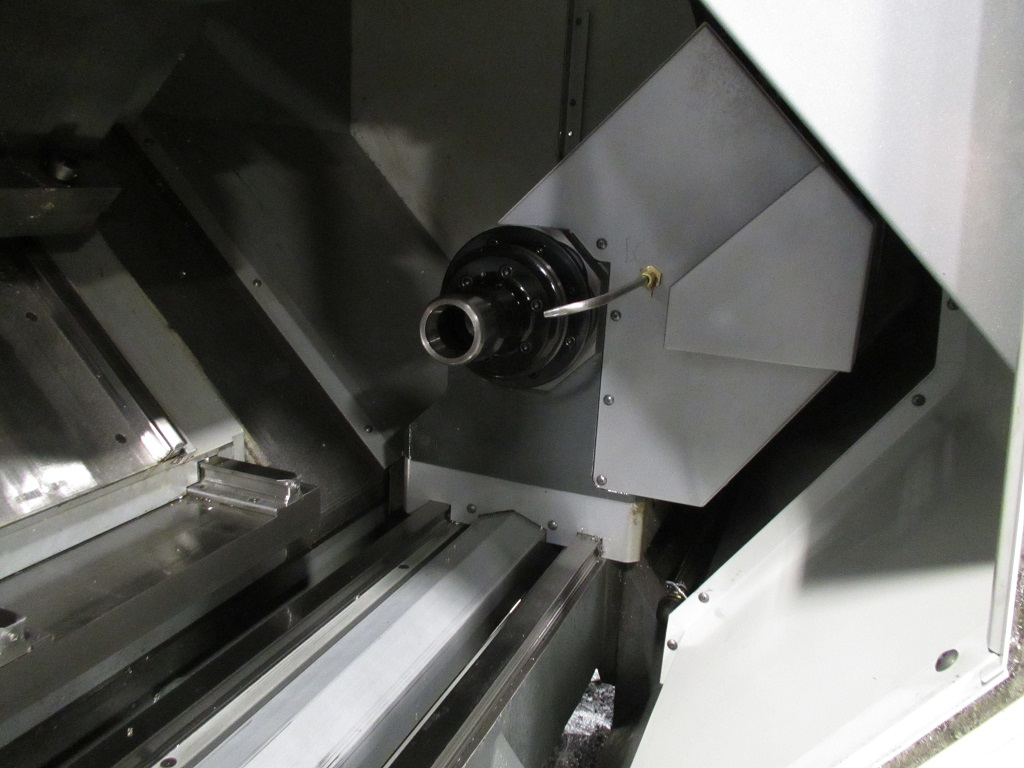 """Haas DS-30SSY, Sub, Milling, C-Axis, Y-Axis, 2"""" Bar, 8"""" Chks, 16C Cks, Barfeed, HPC, Tooling, Like New, 2017, TK-21166"""