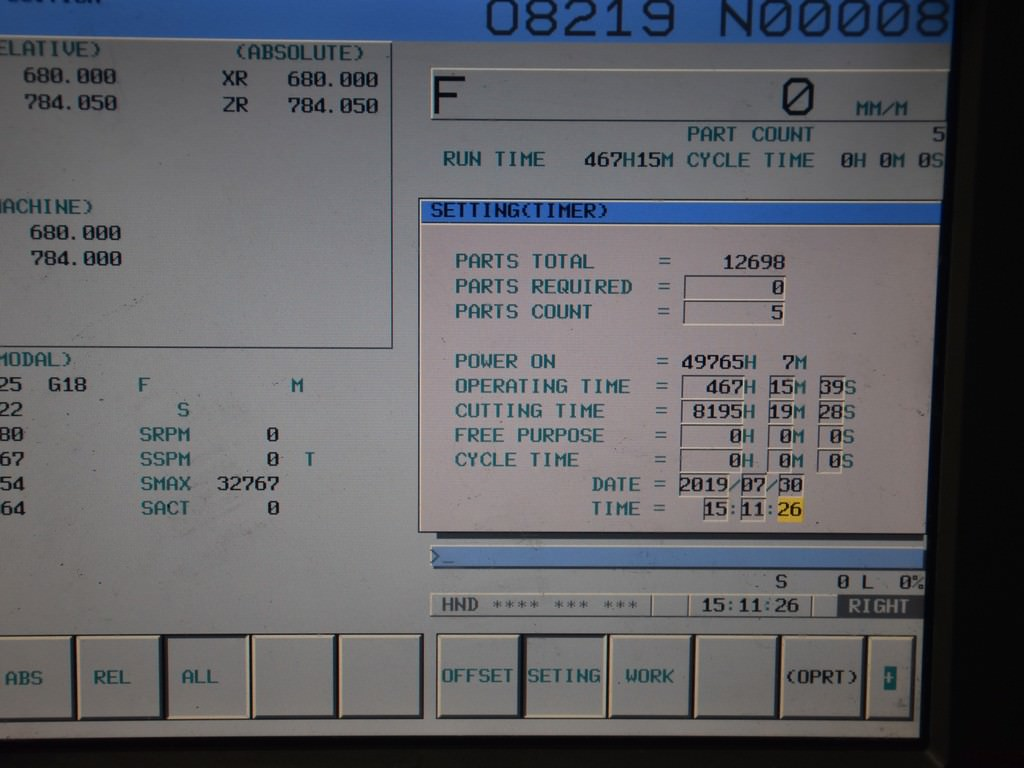 "Doosan Puma V550-2SP, Twin 24"" Chucks, Twin V10 Turrets, Twin Chip Conveyors, 2006, #30246"