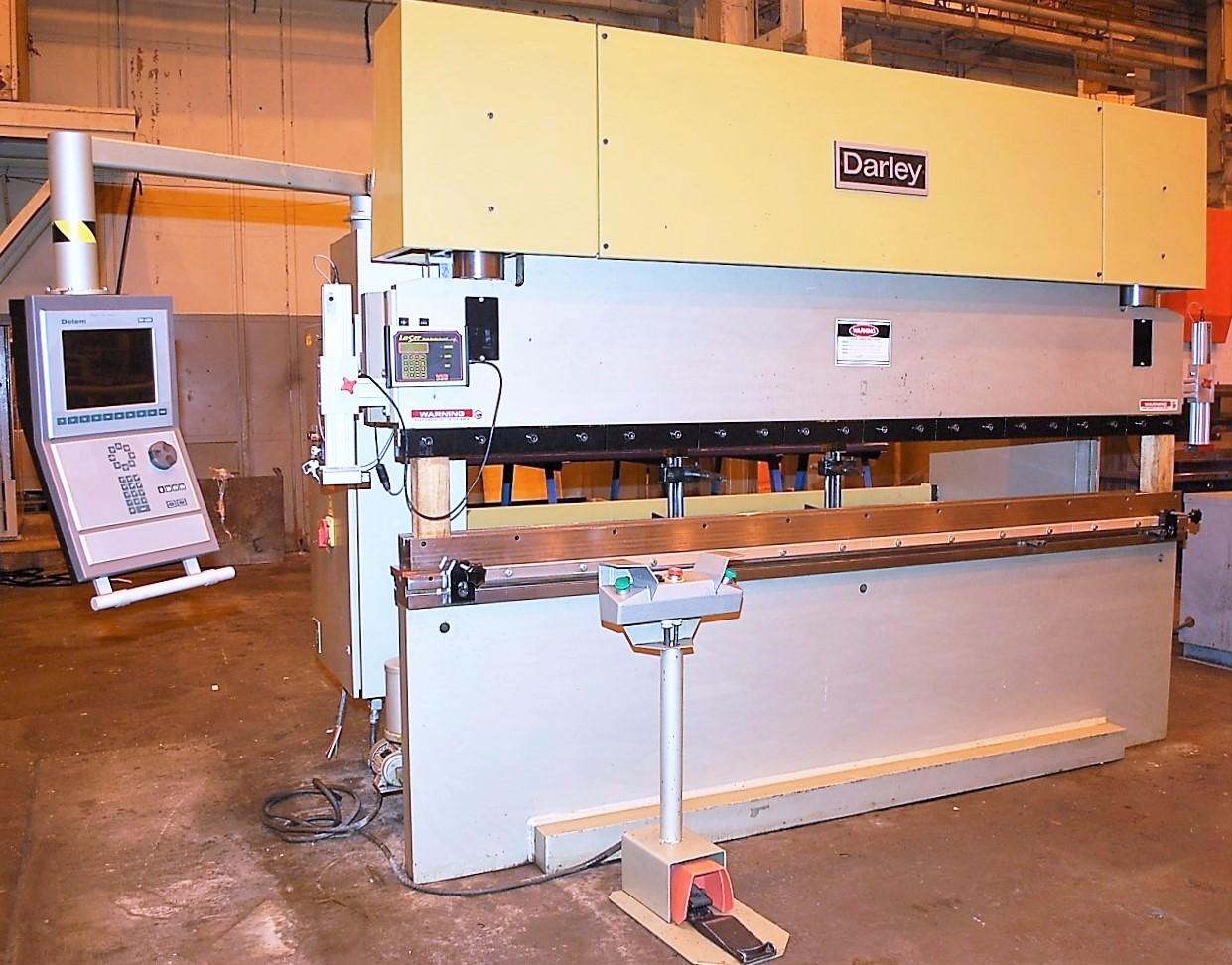 "DARLEY EHP 110 31/25, 110 Ton, 120"" OA, 100"" BH, 2-Axis B.G, Delem DA65R Retrofit 2015, #30396"
