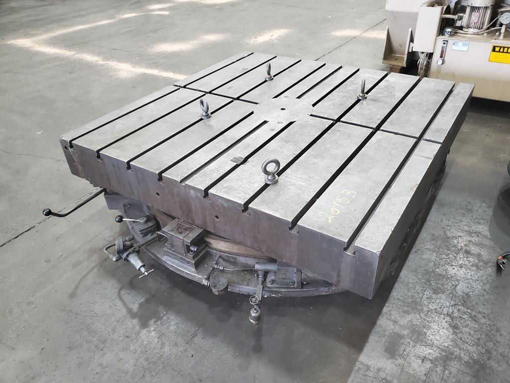 "60"" x 60"" Lucas Air Lift Rotary Table"