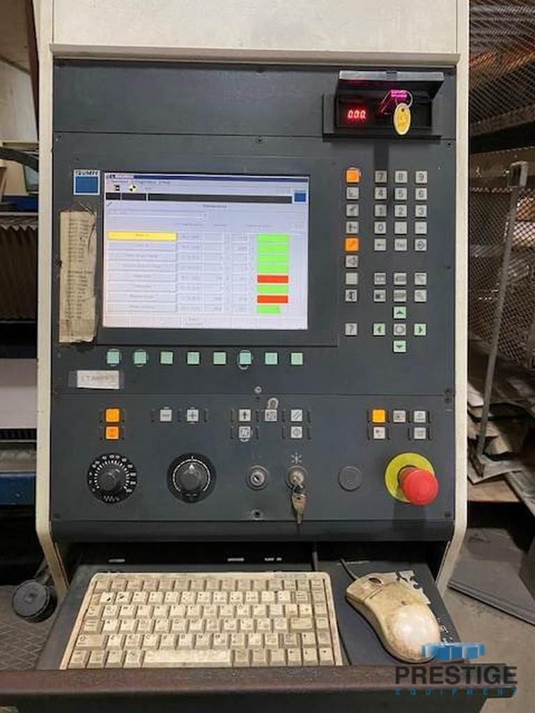 "6000 Watt Trumpf L4050, X-160"", Y-80"", Siemens 840D CNC, Pallet Changer, Chiller, Dust Collector, 2006, #31344"