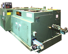 Nakashimada BT/BTX series are designed as eco-friendly machines from its design stage with simplified equipment. While speeding up production speed, we manage to reduce overall electric and air consumption.