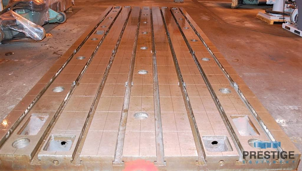 """78"""" x 236"""" x 15.75"""" T-Slotted Floor Plates, Cast Iron, Matched, 6-Available #30887"""
