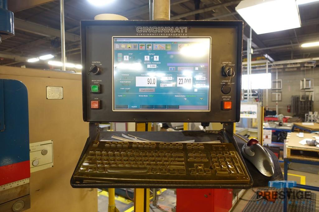 Cincinnati 90 Ton x 10' Autoform, Cincinnati PC 8-Axis (2011), Crowning, Clamping, 6-Axis B.G., #31231