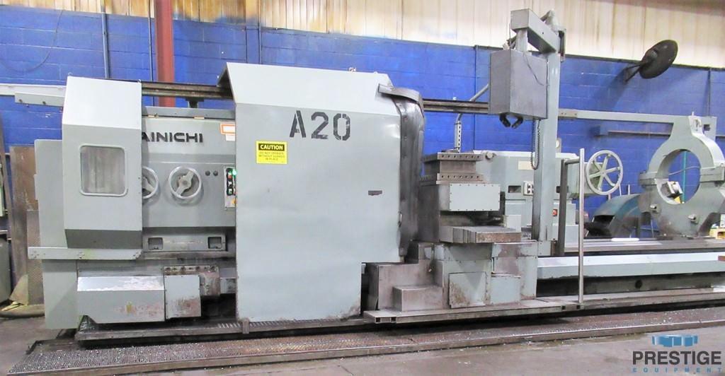 "63"" x 157"" Dainichi H/NC 160x400, 48"" O/C, 500 RPM, 73 HP, Fanuc 21i CNC, R'Fit '08, #30529"
