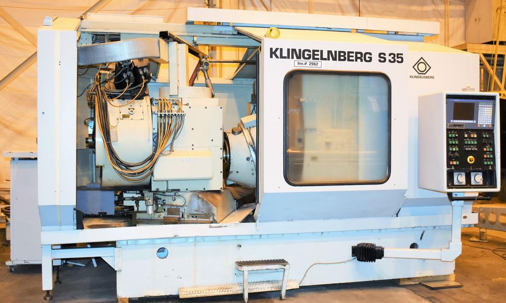"""Klingelnberg S35,10-Axis,Spiral Bevel & Hypoid,24"""" Max. Workpiece, Siemens CNC,1993,#16326"""
