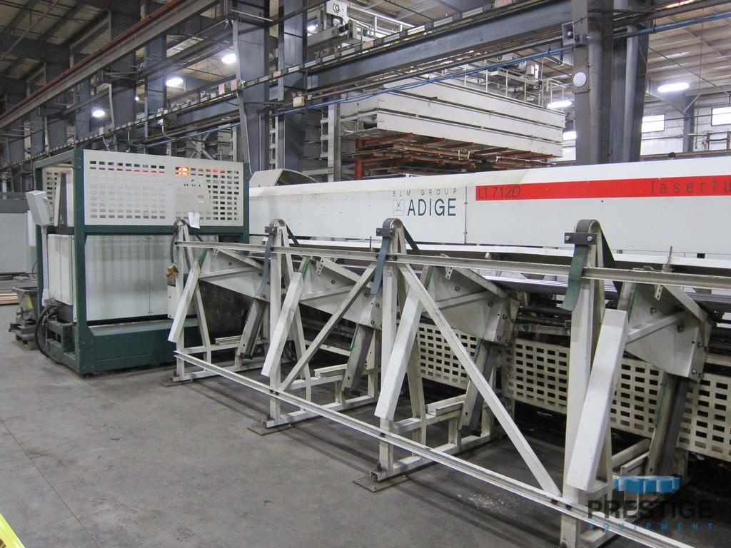 "BLM Adige LT712D 8.5 Tube Laser, 6"" Max. Dia., 335"" In-Feed, 2.5 KW CO2, Mfg. 10/04 Installed 3/05 #31031"