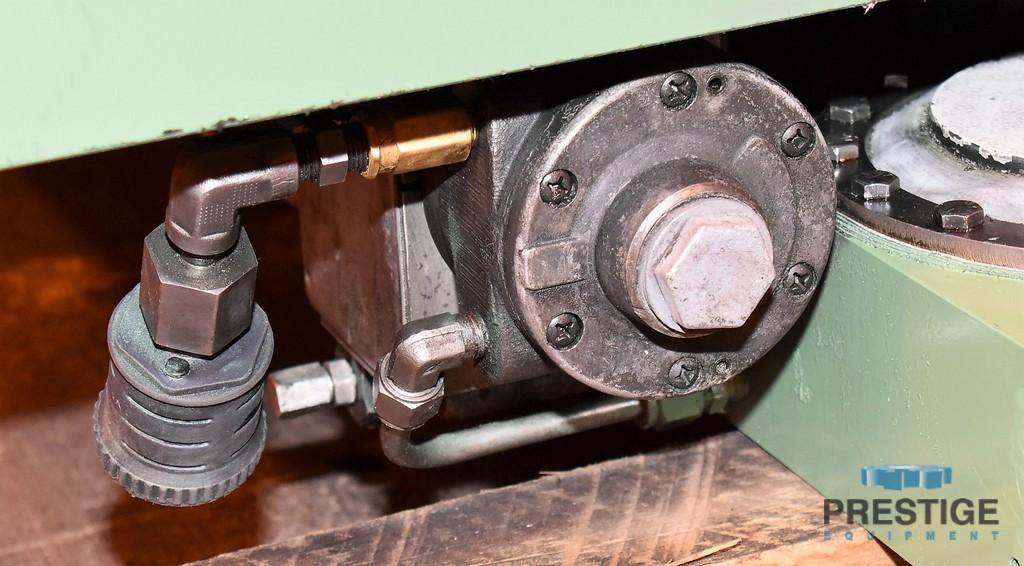 "48"" x 72"" Giddings & Lewis, Hydrostatic, 25,000 Lb Cap. 90 Degree Shot Pin, '93 #30774"