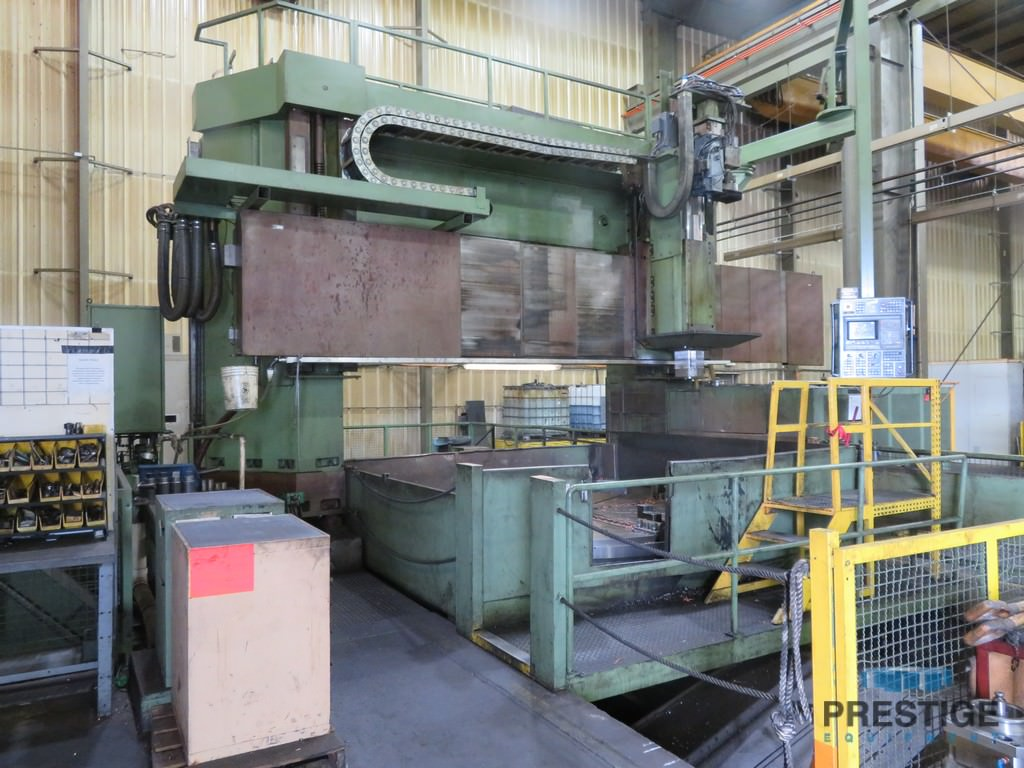 "118""/157.48"" Dorries VC 3500, Milling W/Y-Axis, ATC, 101"" Turning Height, 157"" Swing, 92 HP, Siemens 880M CNC #30902"