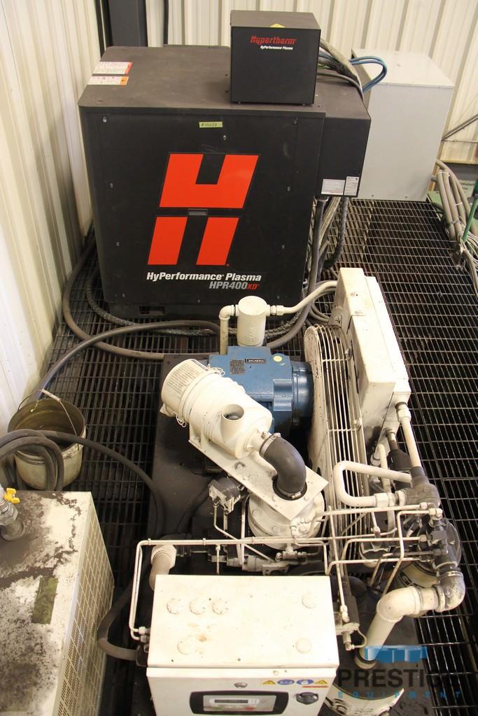 "Peddinghaus HSFDB 2500/3B Plate Processor, 3"" Max. plate, 96"" max. plate width, Hypertherm HPR400XD, 2012, #31085"