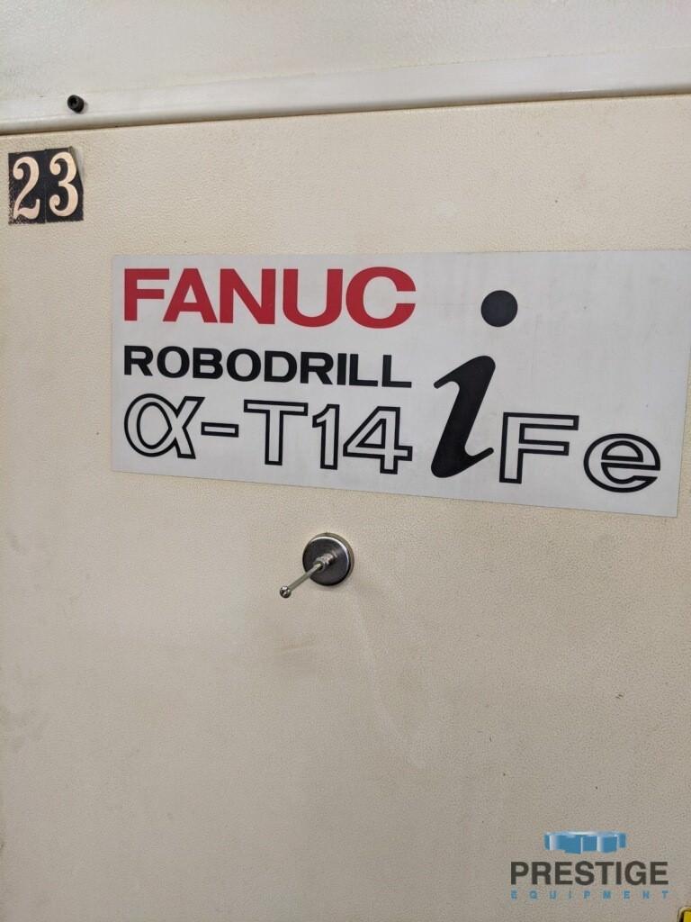 "FANUC Robodrill Alpha T14iFe, X-19.68"", Y-15.74"", Z-13"", 10,000 RPM, Fanuc 31iA CNC, 14 ATC, 2008, #31112"