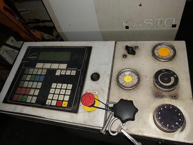 KASTO CNC HORIZONTAL BAND SAW TWIN A4 2000 - USED