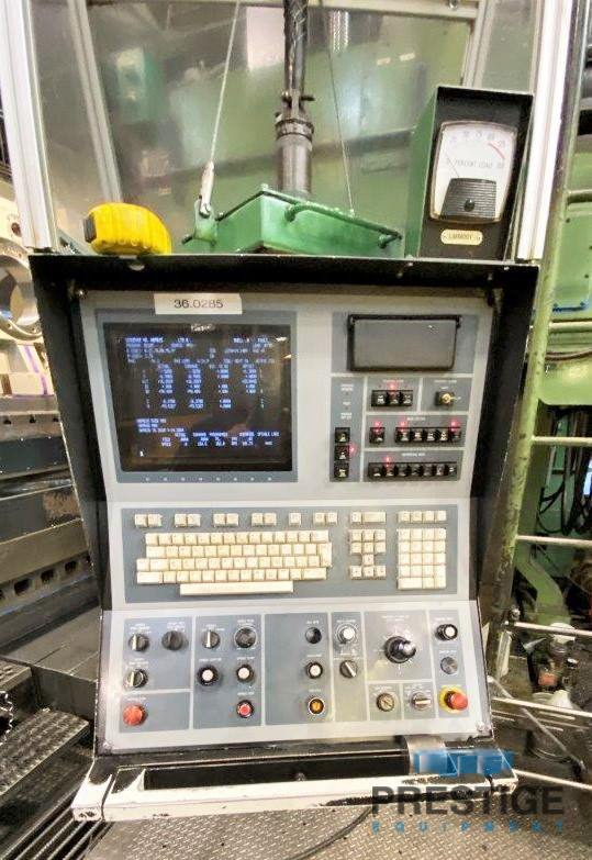 """7"""" Giddings & Lewis, H70-T, X-144"""", Y-108"""", 72"""" x 144"""" Table, 70,000 Table Capacity, G&L 800M CNC, #31047"""
