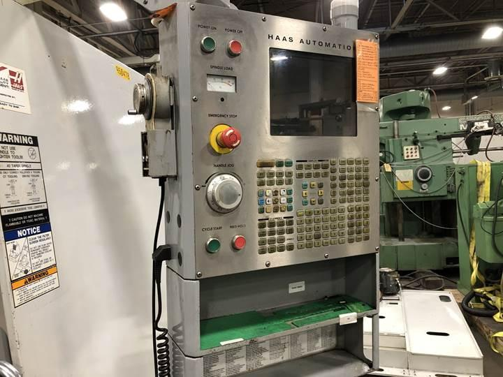 USED HAAS 4 AXIS VERTICAL MACHINING CENTER MODEL VF8B/40, YEAR 2005, STOCK# 10645