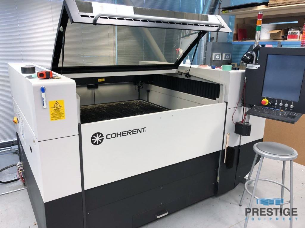 """Coherent Meta 10C,  1 KW CO2, 50"""" x 50"""", Chiller, Blower, Touch Screen, Honeycomb Table, Low Hours! 2016 #30966"""