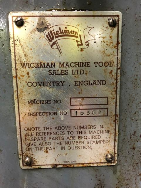 """Wickman 1 3/4"""" - 6 spindle multispindle,  Universal threading Selection of tool holders Electric coolant Fully enclosed guarding Chip conveyor Stock reel and stand"""