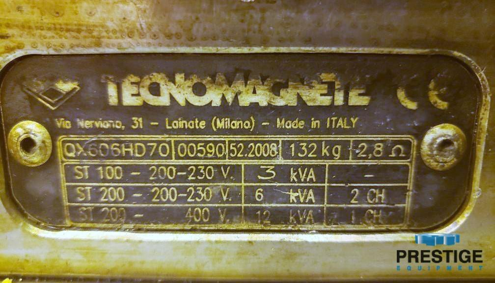 """Technomagnete Magnetic Tables, 22.75"""" x 24"""" x 2"""", 1,760 Lbs. Magnetic Pull, (8) Avail,New 2009, #30020"""