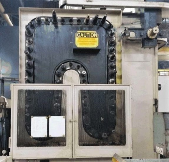 "5.9"" Kuraki KBT-15DX, 60 ATC, X-157"", Y-82"", B-Axis Rotary Table, 2-APC, 2000 RPM, #30525"