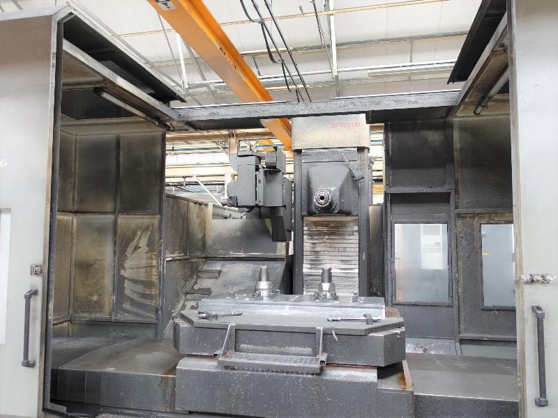Correa Anayak VHPLUS-3000-MG Horizontal CNC Milling Machine, 2008