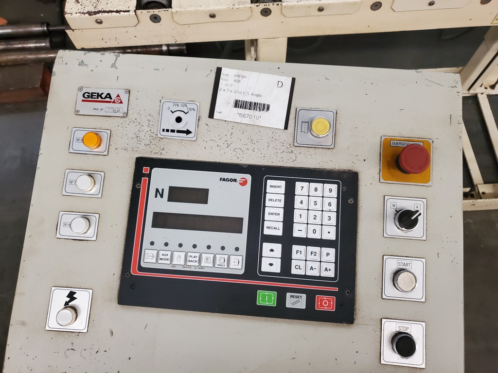 80 Ton Geka Hydraulic Ironworker