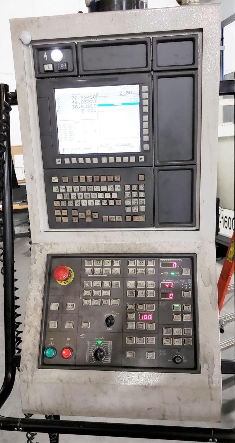 "YCM DCV6030 BF, X-216"", Y-102"", 122""BC, Fanuc 32i-MB, Angle Head, 40-ATC, ACC, 2013 #30797"