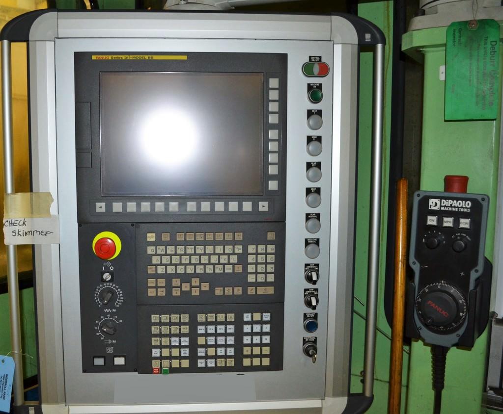 "Giddings & Lewis G60-FX, 6"" Spdl, 204 ATC, X-192"", Y-117"", 60"" x 96"" RTab, 4 APC, 80 HP, #30475"