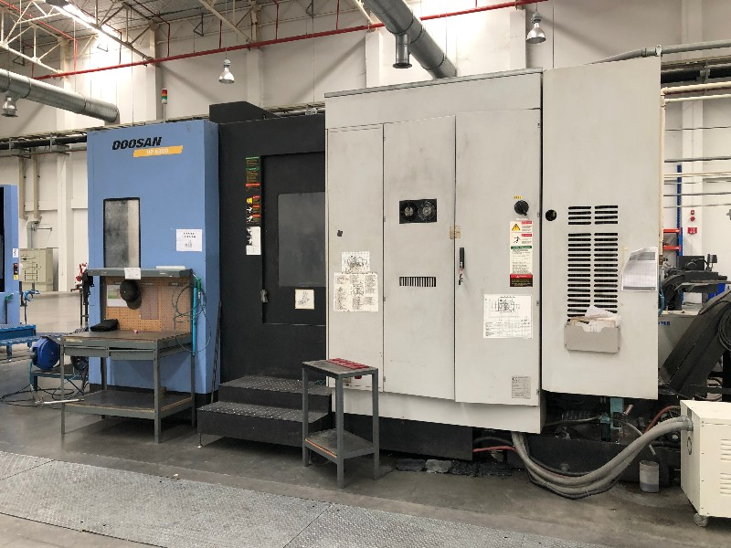 Doosan HP6300 Horizontal Machining Centre, used