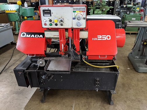 One of Several AMADA HA 250-W machines in Stock, Completely gone through and rebuilt as necessary to give years of service.