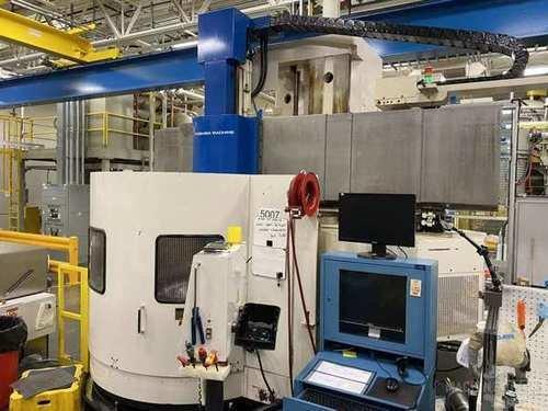 "Toshiba Model TUE-15 CNC Vertical Boring Mill, Mfg. 2007, Fanuc 0i-TC Control, 59"" Table"