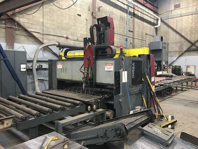 USED VOORTMAN MODEL V320C PLATE PROCESSOR, DRILLING, CUTTING, PLASMA, AND OXY-FUEL, YEAR: 2012, STK# 10669